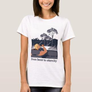 T-shirt De la bière à l'éternité