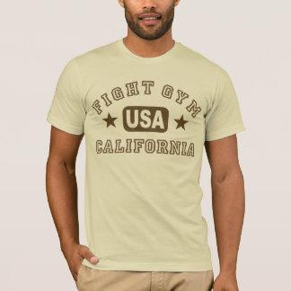 T-shirt de la Californie de gymnase de combat