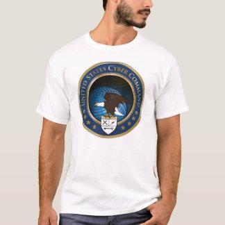 T-shirt de la commande USCYBERCOM de Cyber des