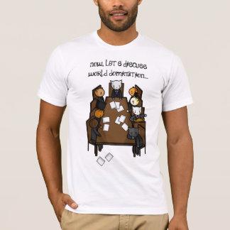 T-shirt de la domination du chat