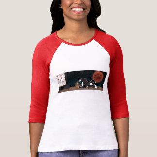 T-shirt de la douille des femmes de festival de