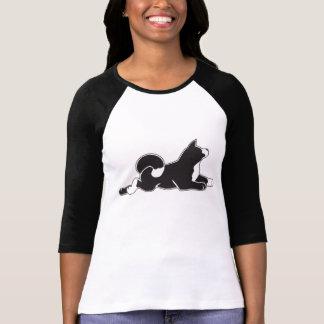 T-shirt de la douille des femmes de MARS Akita 3/4