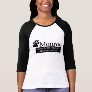 T-shirt de la douille des femmes de Monroe SPCA
