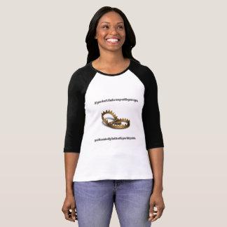 T-shirt de la douille des femmes de piège de RPG