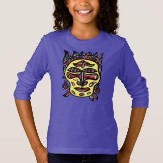 """T-shirt de la douille des filles """"de masque"""