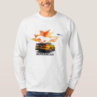 T-shirt de la douille des hommes d'adaptateur de