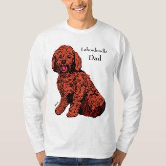 T-shirt de la douille des hommes de papa de