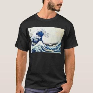 """T-shirt """"De la grande peinture japonaise vague"""" par"""