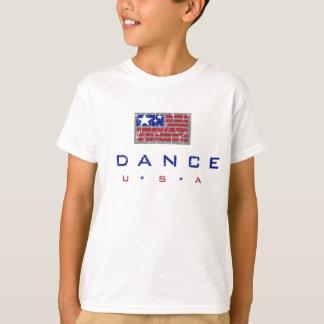 T-shirt de la jeunesse de danse des Etats-Unis