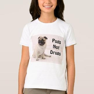 T-shirt de la jeunesse de drogues de carlins pas