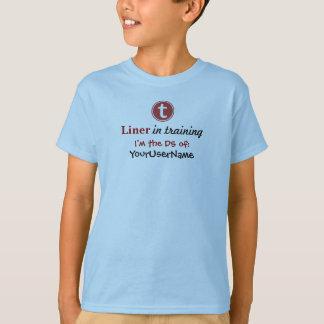 T-shirt de la jeunesse de lignes garçons