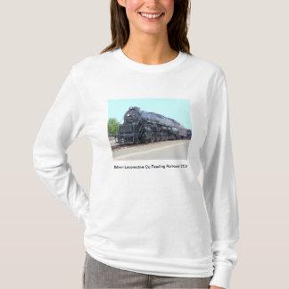 T-shirt de la locomotive 2124 de chemin de fer de