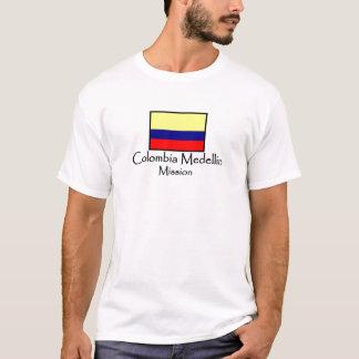 T-shirt de la mission LDS de la Colombie Medellin