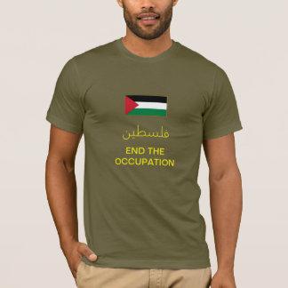 T-shirt de la Palestine (olive)
