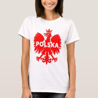 T-shirt de la Pologne Polska Eagle des femmes