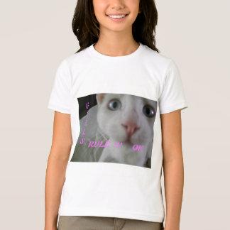 T-shirt de la règle de la fille
