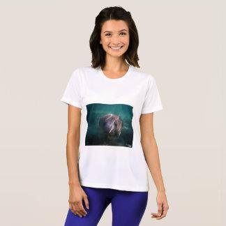 T-shirt de la représentation de bébé des femmes