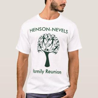 T-shirt de la Réunion de famille de Henson-Nevels