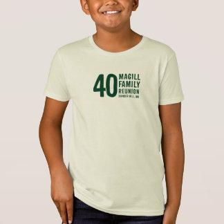 T-shirt de la Réunion de Magill : Conception B
