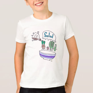 T-shirt de la salade de l'enfant