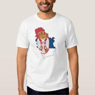T-shirt de la Serbie