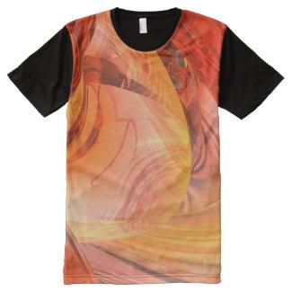 T-shirt de la série Ufo Unside pleine impression