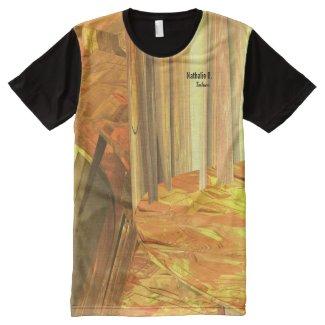 T-shirt de la série Uplands pleine impression