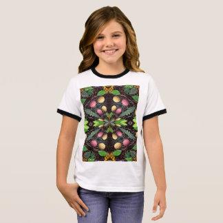 T-shirt de la sonnerie de la fille