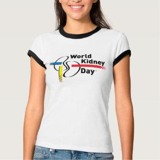 T-shirt de la sonnerie des femmes de WKD