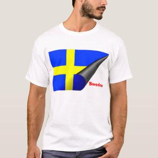 T-shirt de la Suède (drapeau suédois)