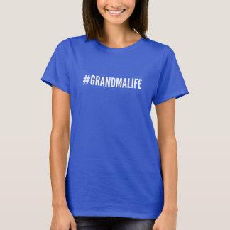 T-shirt de la vie de grand-maman de Hashtag