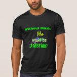 T-shirt de la vie de musique