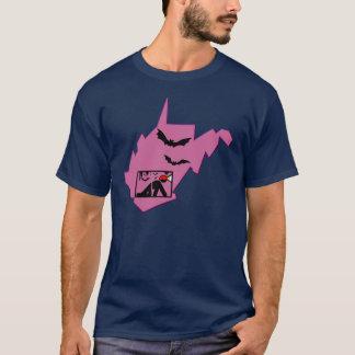 T-shirt de la Virginie Occidentale Caver