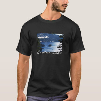T-shirt de lac crater