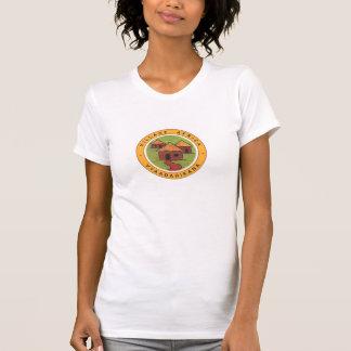T-shirt de l'Afrique de village