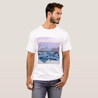 T-shirt de lagune de glacier de Jökulsárlón