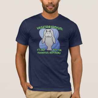 T-shirt de lamantin de Kawaii