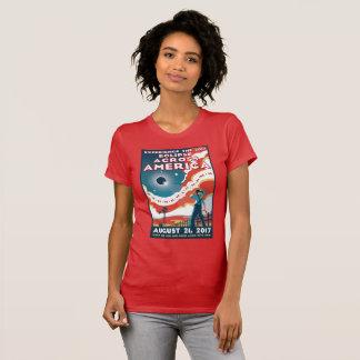 T-shirt de l'Amérique d'éclipse solaire de la NASA
