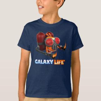 T-shirt de lance-flammes