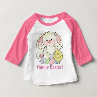 T-shirt de lapin de Pâques de bébés