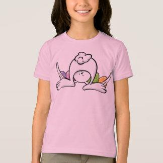 T-shirt de lapin de Pâques pour des enfants et des
