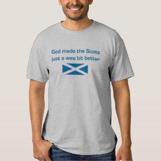 T-shirt de l'Ecosse