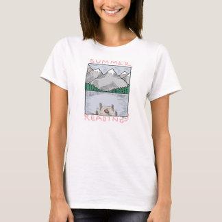 T-shirt de lecture d'été