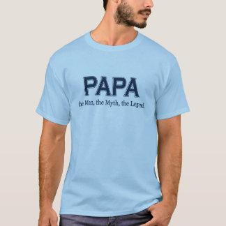 T-shirt de légende de mythe d'homme de papa