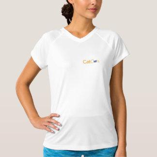 T-shirt de l'équilibre des femmes de CatCon