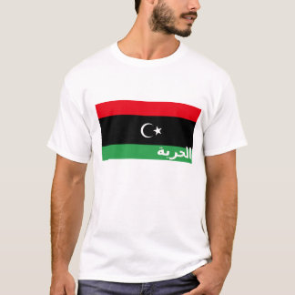 T-shirt de liberté de la Libye