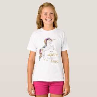 T-shirt de licorne