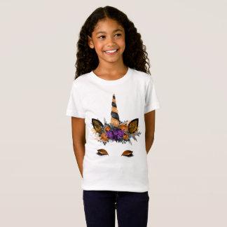 T-shirt de licorne de Halloween