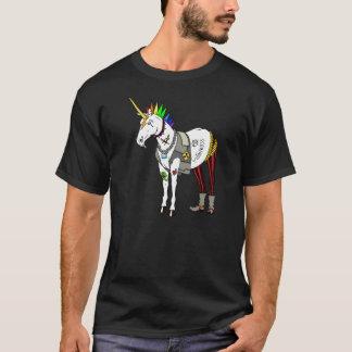 T-shirt de licorne de punk rock