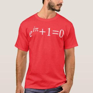 T-shirt de l'identité d'Euler